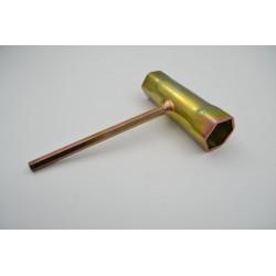clé à bougie 19/21 mm 6...